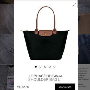 AUTHENTIC Longchamp Le Pliage Original Shoulderbag